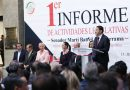 Presenta Martí su Informe de Actividades