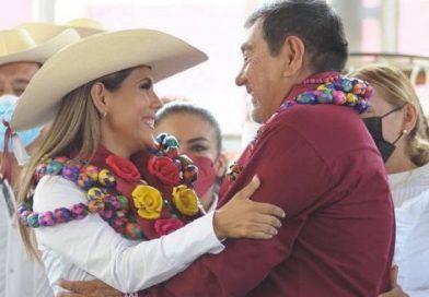 Gané sin imposición ni dedazo y voy por Guerrero: Evelyn Salgado